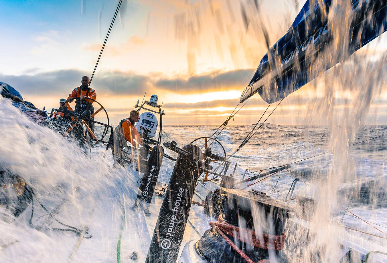 The Volvo Ocean Race 2014-15 is the 12th running of the ocean marathon.