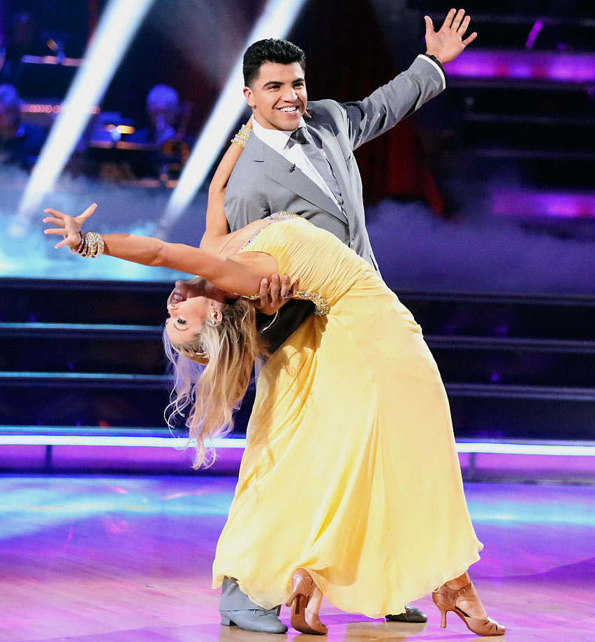 Professional boxer and former WBC Welterweight Champion Victor Ortiz finished in 8th place with with dancing partner Lindsay Arnold in Season 16.