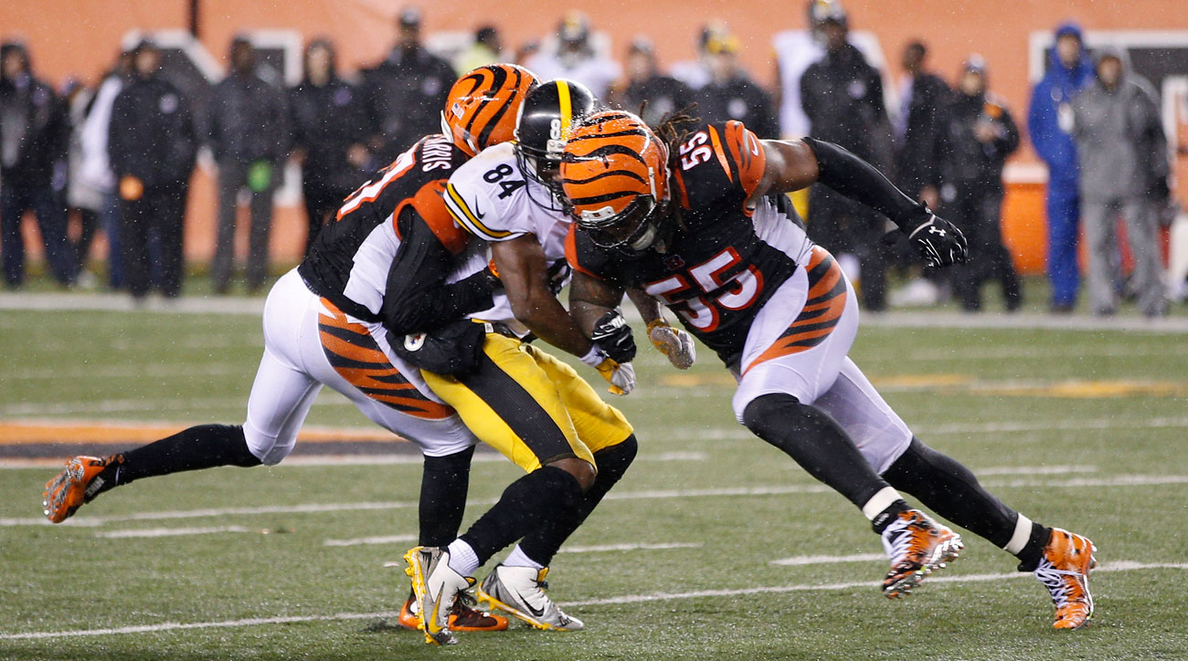 Burfict was suspended three games for his hit on Antonio Brown, the latest in a series of transgressions for the Bengals linebacker in 2015.