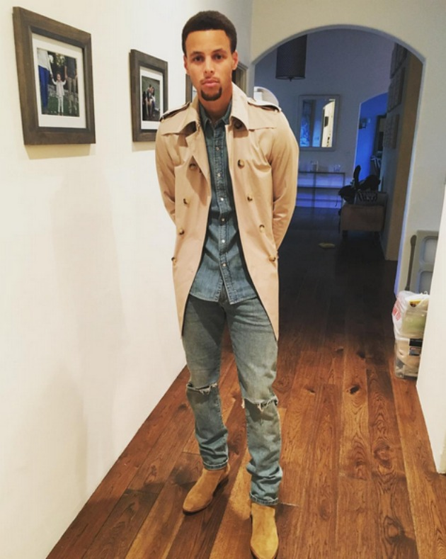 Golden State Warriors Stephen Curry S Off Court Look Si Com