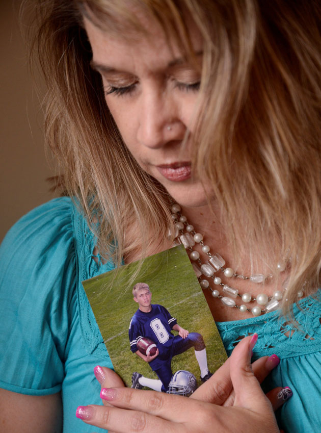 By the time of Weiss' fatal overdose at 18, he was a shadow of the boy in the photo held by his mom, Jennifer.