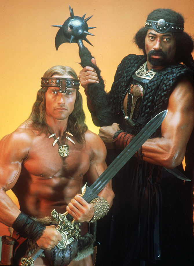 "The Big Dipper was no match for the raw power of Arnold Schwarzenegger when when he betrayed Schwarzenegger's character Conan in ""Conan the Destroyer."" Conan kills the seven-time scoring champion and 11-time rebounding champion in his only credited movie role."