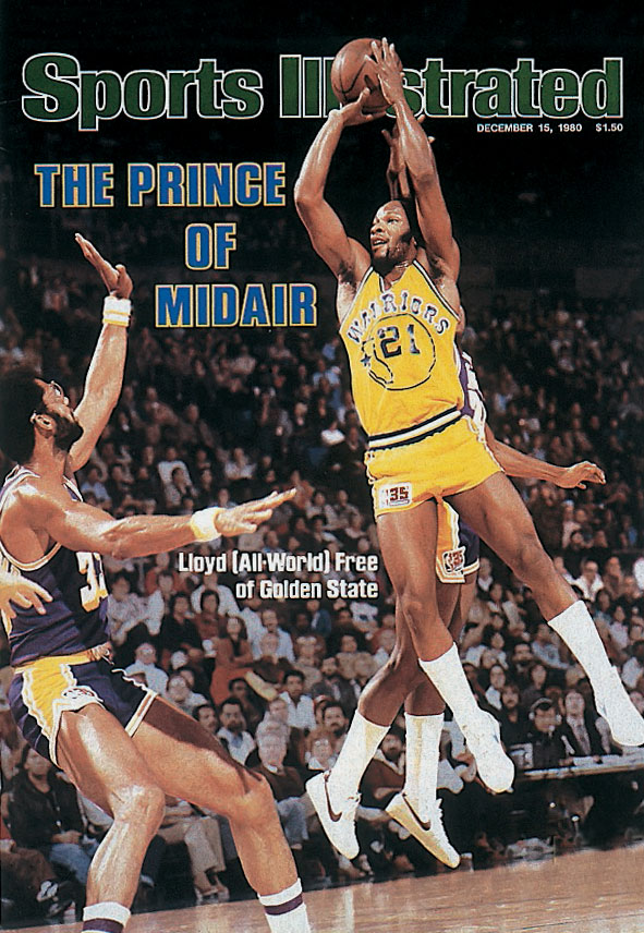 Despite the civic undertones of his new identity, the former Lloyd B. Free got his nickname from his basketball prowess, not his politics: with an alleged 44-inch vertical leap, the stylish All-Star was often dubbed ''All-World.'' And with the Warriors in 1980, Free made it official.
