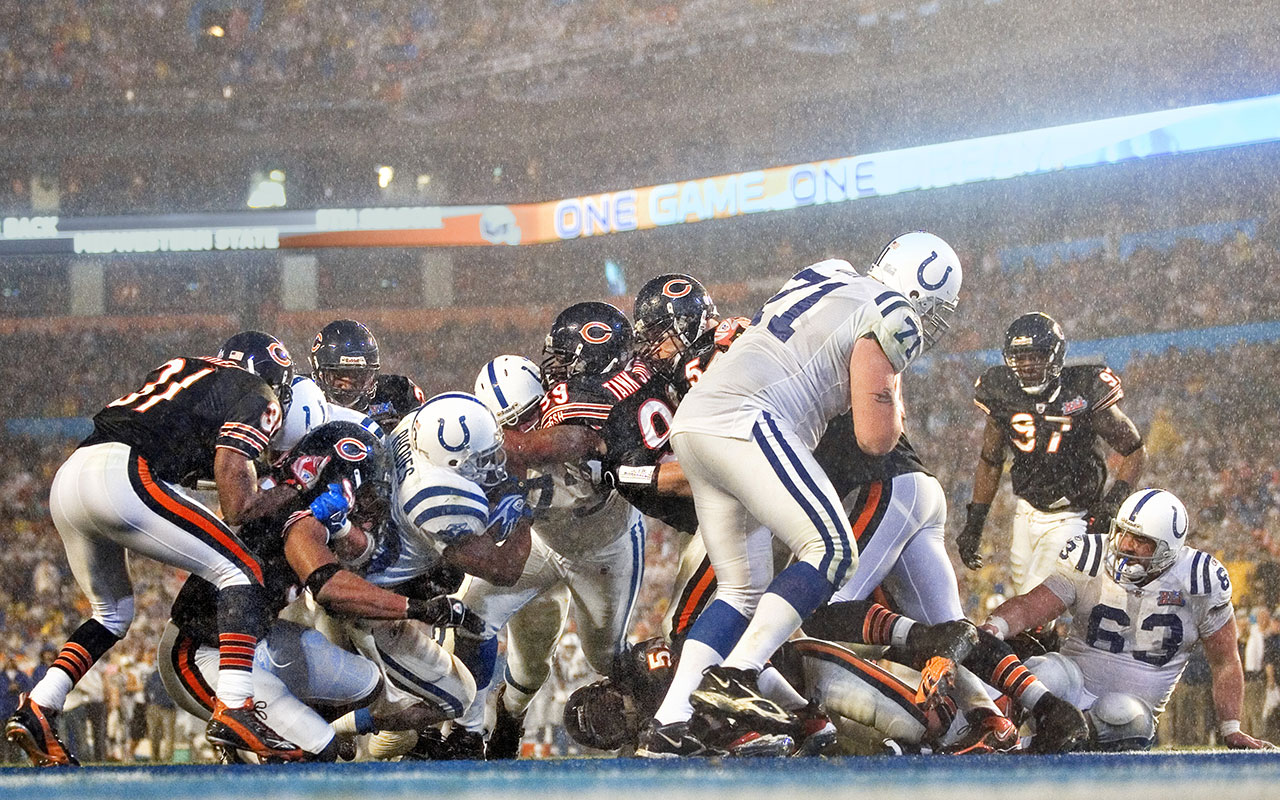 Super Bowl 2007 Peyton Manning And Colts Defeat Bears Vault