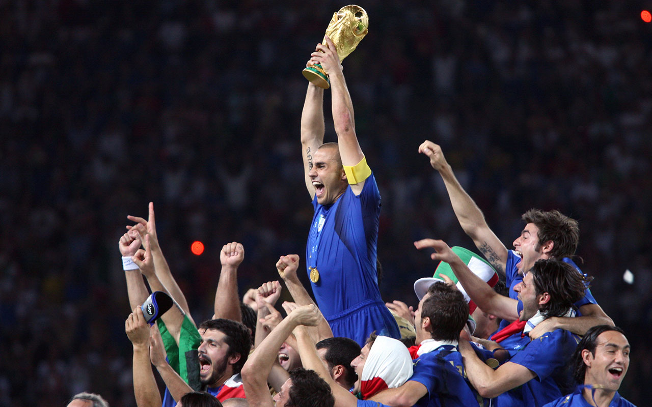 ced87f6a2 2006 World Cup Final  Italy wins