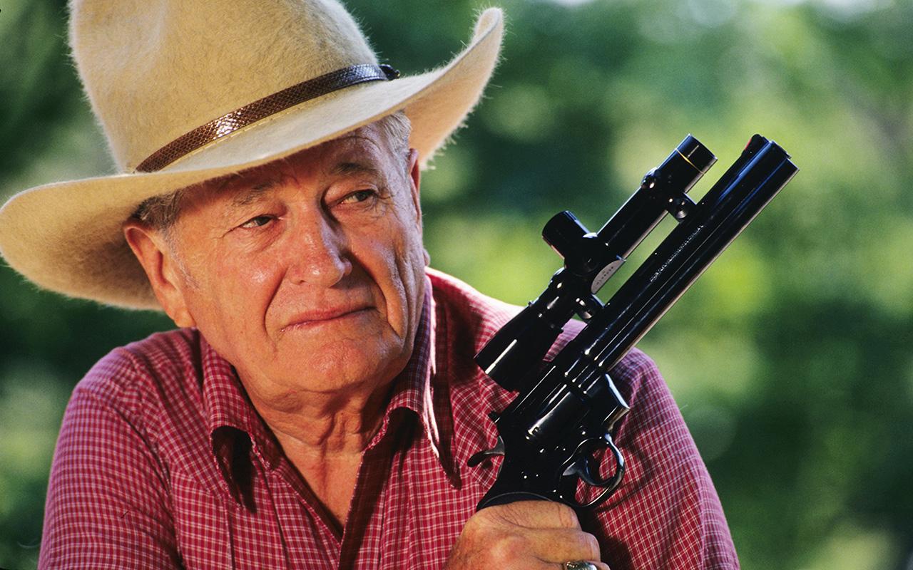 NRA leader Joe Foss discusses gun control | Vault