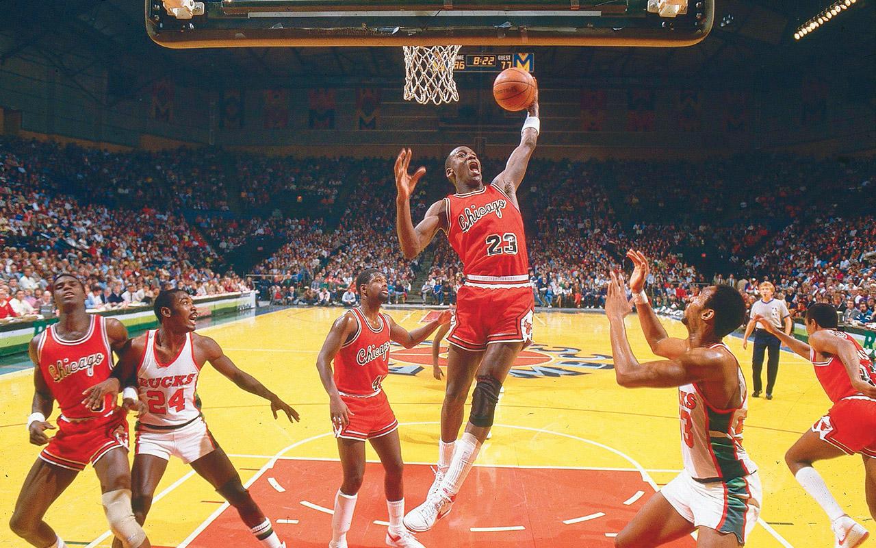 Michael Jordan's rookie year for Chicago Bulls   Vault