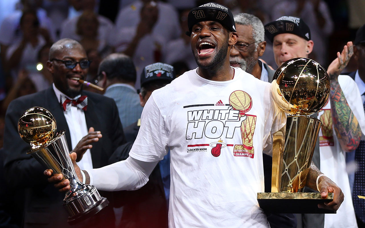 d2359f500e65 LeBron James reflects on his second NBA title