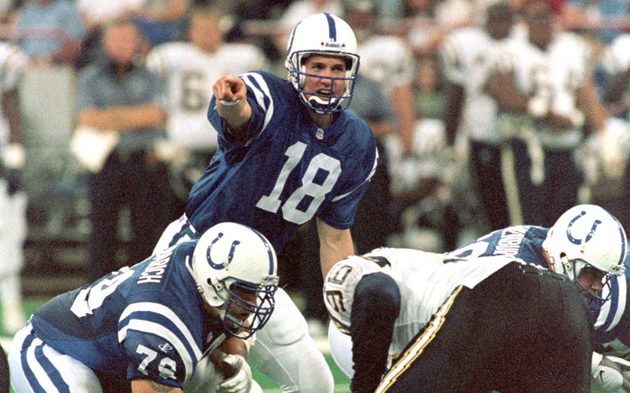 Awesome Peyton Manning Lives Up To Pedigree In 99 Season With Colts Interior Design Ideas Clesiryabchikinfo