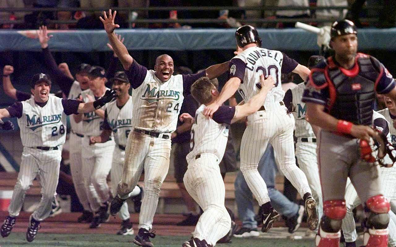 Resultado de imagen para marlins 1997 champions