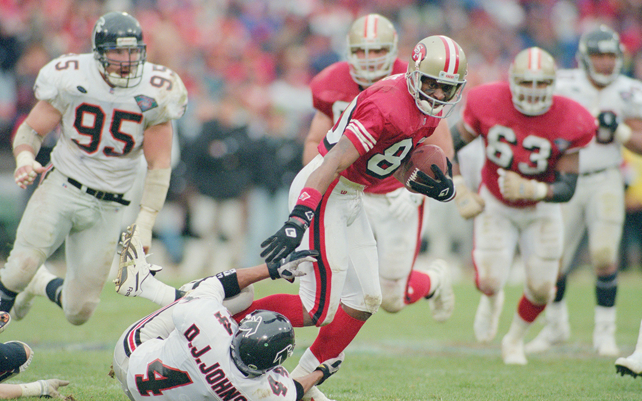 f64abd6e17f Let s Hand It To Him. Jerry Rice s ...
