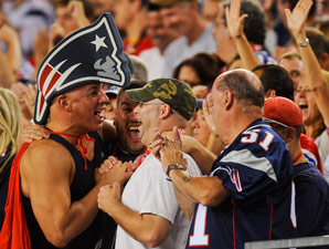 Steve Rushin  Welcome to the jungle  scenes from an NFL game  7eda2a6b5fe