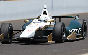 Ed Carpenter filled the final spot in the Indianapolis 500 field as he qualified in 222.324 mph.
