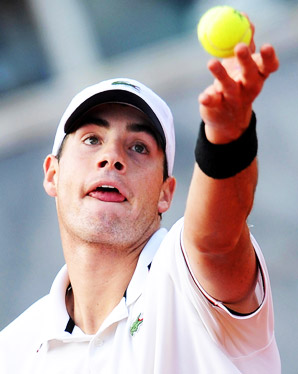 John Isner knocked off two top 10 oponents on clay at Davis Cup, but has struggled in the French Open tuneup swing.