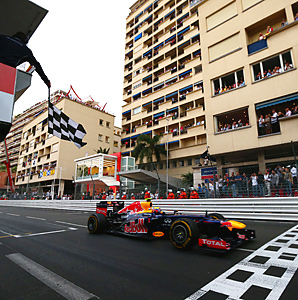 Mark Webber won his second Monaco race in three years for Red Bull.