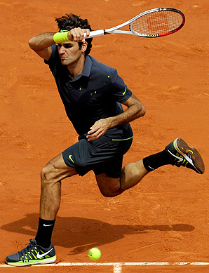 Roger Federer is one of 37 players in the French Open draw who are age 30 or older.