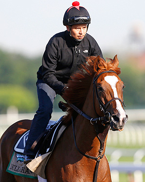 Dullahan's resting period after the Kentucky Derby puts him in prime position to run a strong race at the Belmont Stakes.