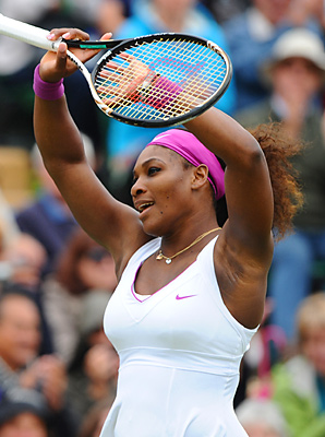 Serena Williams struggled through another three-set match in beating 65th-ranked Yaroslava Shvedova.