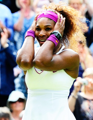Serena Williams is an emotional tennis player, which often draws mixed reviews.