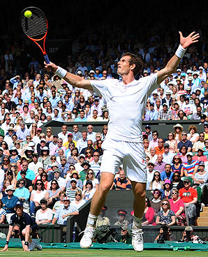The price of tickets for the Wimbledon men's final went up drastically once hometown player Andy Murray qualified.
