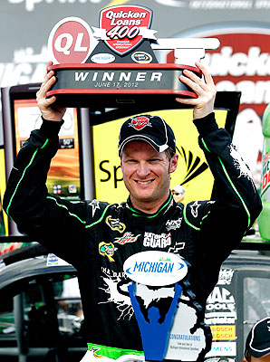 Dale Earnhardt Jr. won at Michigan this year, and is primed to contend for more victories before the season's end.