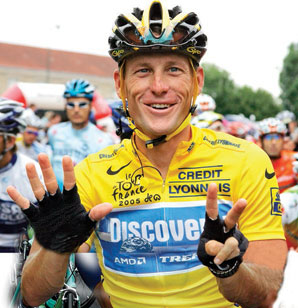 Lance Armstrong was stripped by the USADA of all seven of his Tour de France titles for doping.