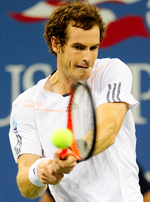 Andy Murray has reached eight straight quarterfinals at majors.