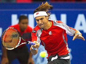 David Ferrer overcame a first-set loss to beat Igor Sijsling and advance to the Malaysian Open semis.