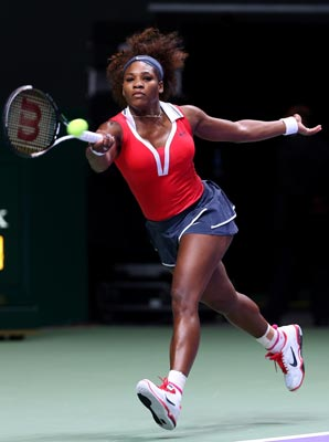 Serena Williams has won 47 of her past 49 matches.