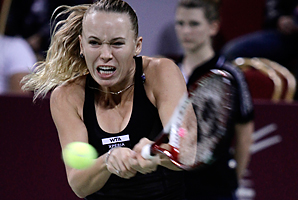 Caroline Wozniacki will return to the top 10 when the rankings come out on Monday.
