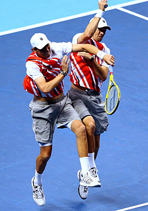 Bob and Mike Bryan won't play in the ATP semifinals for the first time in five years.