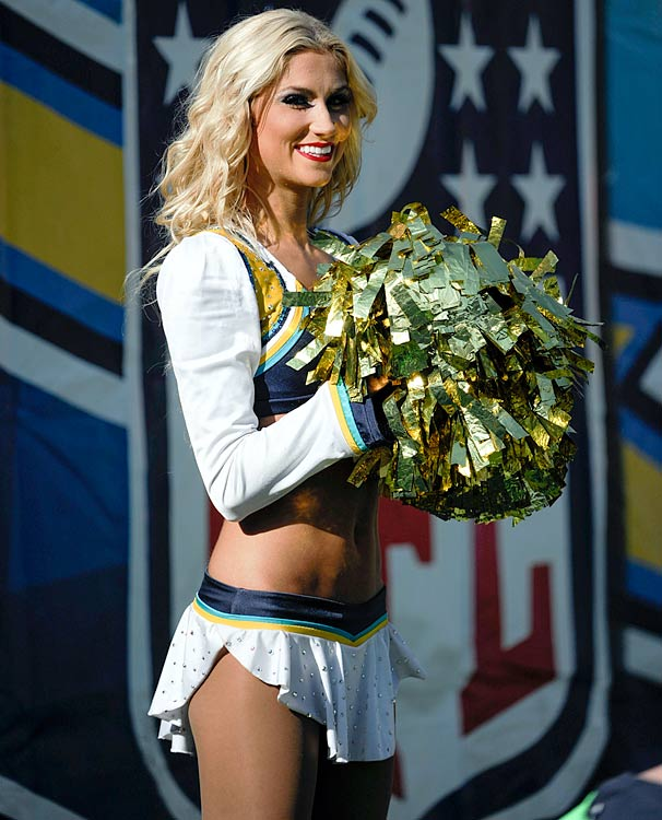 San Diego Chargers Cheerleader: NFL Cheerleaders: Week 12