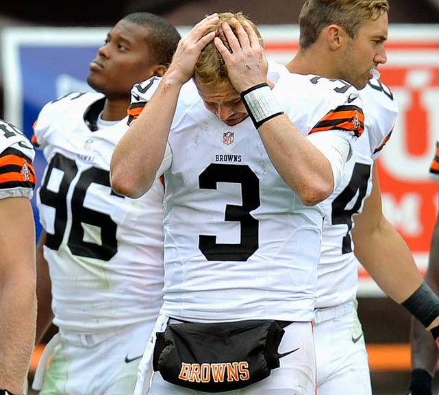 Since 1999 the Cleveland Browns have had 16 different starting quarterbacks and just two winning seasons. Mark Bechtel examines the Browns' search for stability and whether Brandon Weeden is the answer.
