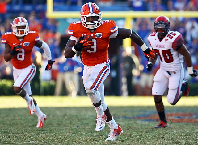 On Nov. 10 the 4-4 Rajin' Cajuns were seconds away from sending the game against Florida into the crapshoot that is overtime. But then came the Gators' Jelani Jenkins, who blocked the punt and returned it for a 36-yard game-winning touchdown with two seconds late. Jenkins both staved off embarrassment for his team, and more importantly gave the Gators the 'W.'