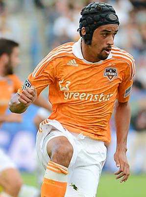 Calen Carr opened the scoring in the MLS Cup, but the Dynamo couldn't hold on.