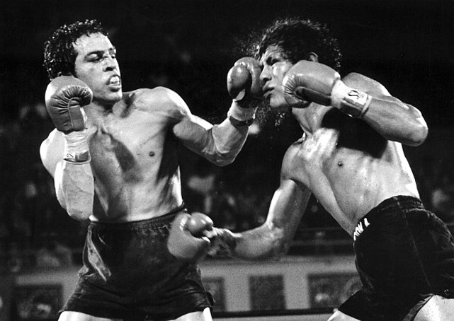 The benchmark in the underappreciated rivalry between Mexican and Mexican-American fighters, Chacon and Limon fought four times at featherweight and junior lightweight. Limon won the first on points, the second was a technical draw, with Chacon winning the third by split decision. The fourth -- and best -- was settled when Chacon scored a last-gasp knockdown in the 15th round that gave him the fight on points.