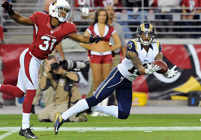 Three weeks removed from a disciplinary benching, Givens has responded in a big way, first by gaining 115 yards and a score against the Cardinals and then by stepping into Danny Amendola's go-to role with 11 catches in a clutch win over San Francisco in Week 13. Sam Bradford will again look Givens' way this week in Buffalo.