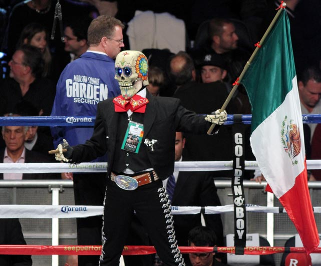 Graveyard shift: The card for the Cotto-Trout bout at Madison Square Garden was reffed by a skeleton crew.