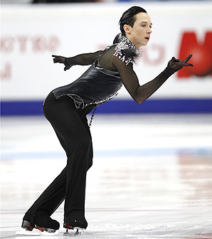 Johnny Weir is a three-time U.S. national champion, winning in 2004, '05 and '06.