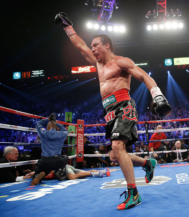 After losing two contested decisions to Manny Pacquiao and settling for a draw in their first fight, Juan Manuel Marquez scored a dramatic knockout victory when they faced off for a fourth time on Dec. 8 at the MGM Grand, putting an end (perhaps) to one of boxing's classic four-fight series. Here's a look at eight other notable fistic tetraologies.