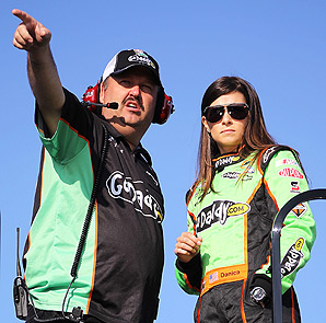 Tony Eury Jr. served as Danica Patrick's crew chief this past season.