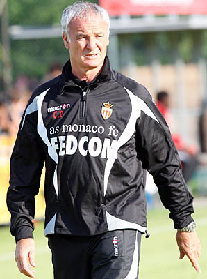 Claudio Ranieri hopes to lead Monaco back into Ligue 1.