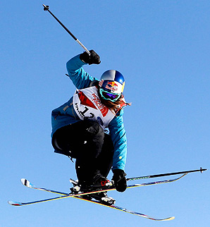 Kaya Turski won gold at the Winter X Games in slopestyle from 2010-2012.