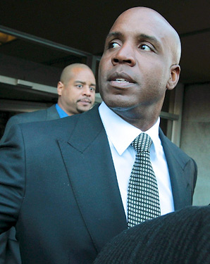 Barry Bonds was convicted in April 2011 of one felony obstruction count for giving an evasive testimony during a '03 grand jury appearance.