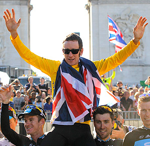 The 2014 Tour de France will start in England, after Bradley Wiggins kicked off a cycling craze by winning the 2012 Tour de France and Olympic gold.