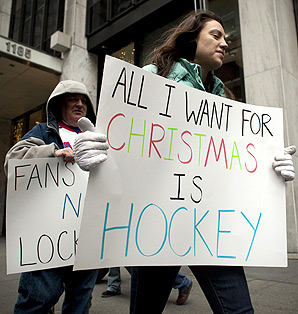 Even though there's no NHL games thanks to the lockout, fans are likely to remain loyal to the sport.