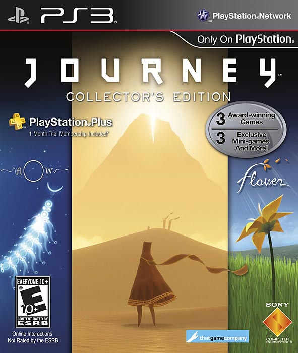 Journey is a beautiful game that's very short, but still manages to draw you in with intuitive controls and a singular grace that makes you care about the outcome of events in the game.