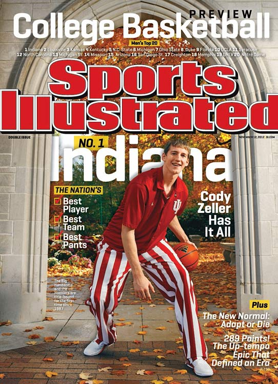 The Big Ten Freshman of the Year last season, Cody Zeller averaged 15.6 points and 6.6 rebounds. Now a sophomore, Zeller is the leader of a Hoosiers team that is undefeated and ranked No. 1 in the country.