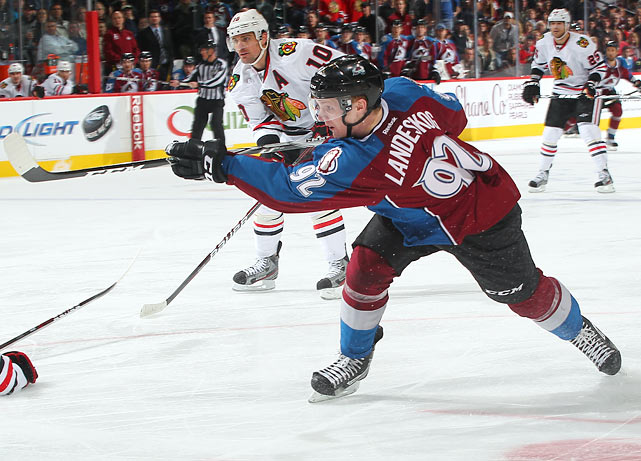The youngest captain in NHL history, Gabriel Landeskog had 22 goals and 30 assists in his debut with the Avalanche.