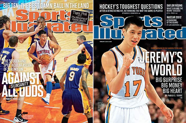 Possibly no athlete's rise to fame has ever been as sudden or as surprising as Jeremy Lin's. After a two-week span of amazing scoring, this undrafted Harvard grad became a global icon.